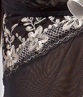 Astra Peignoir Detail
