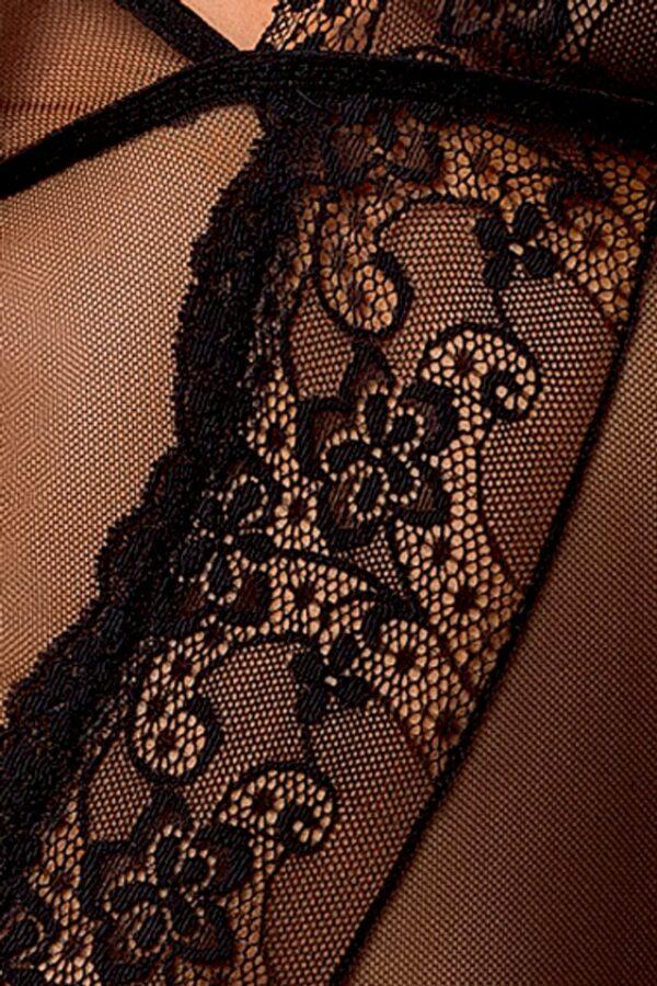 Estera Black Chemise Detail