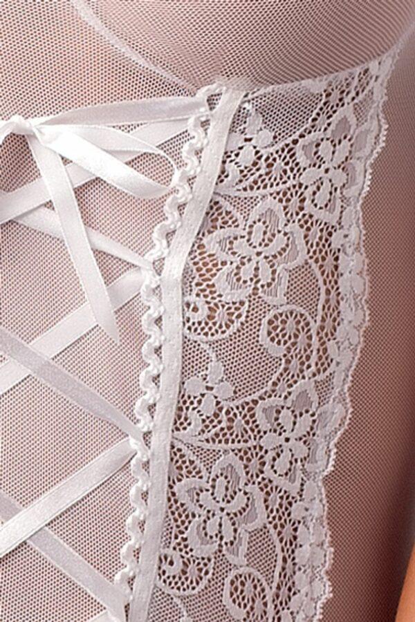 Marcelle White Corset Detail