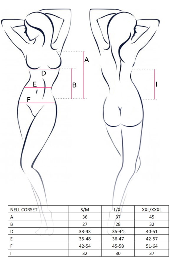 Nell Corset Size