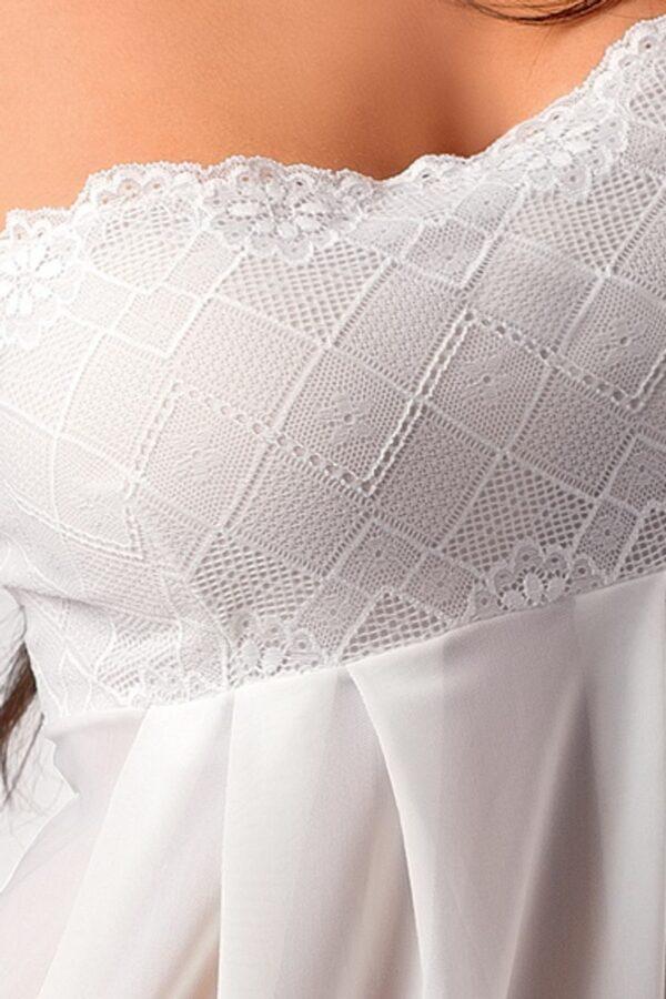 Nicolette Cream Chemise Detail
