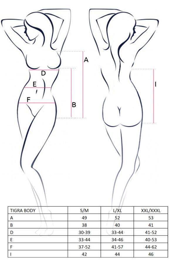 Tigra Body Size