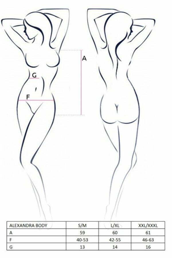 Alexandra Body Size