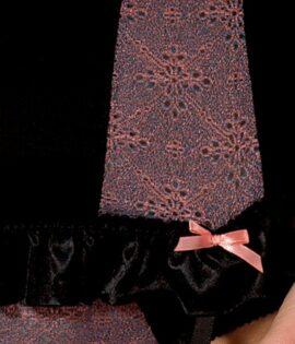 Cheyenne Corset Black Detail