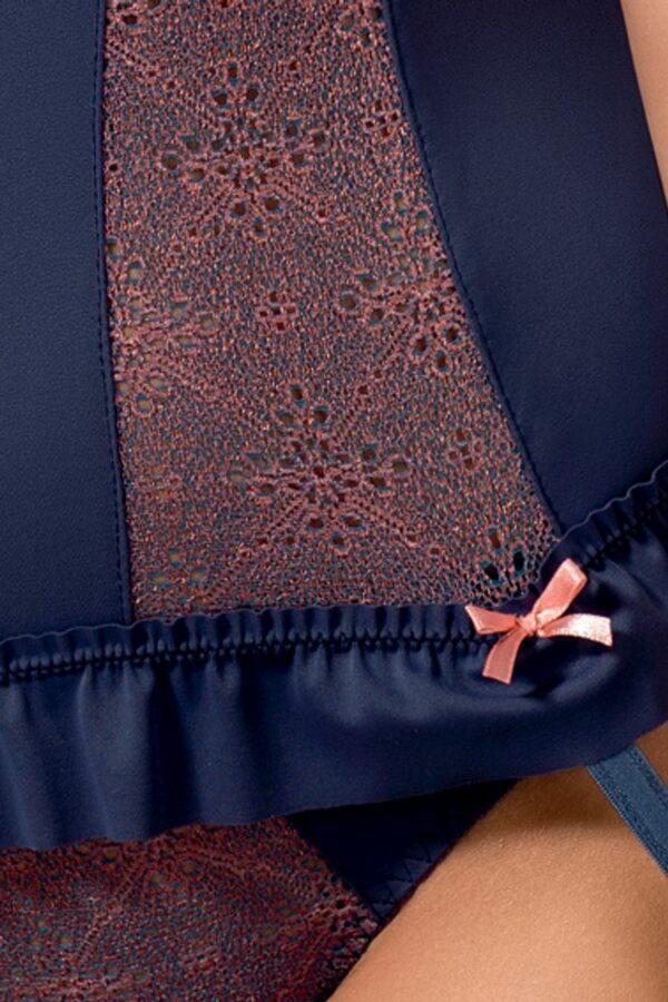 Cheyenne Corset Blue Detail