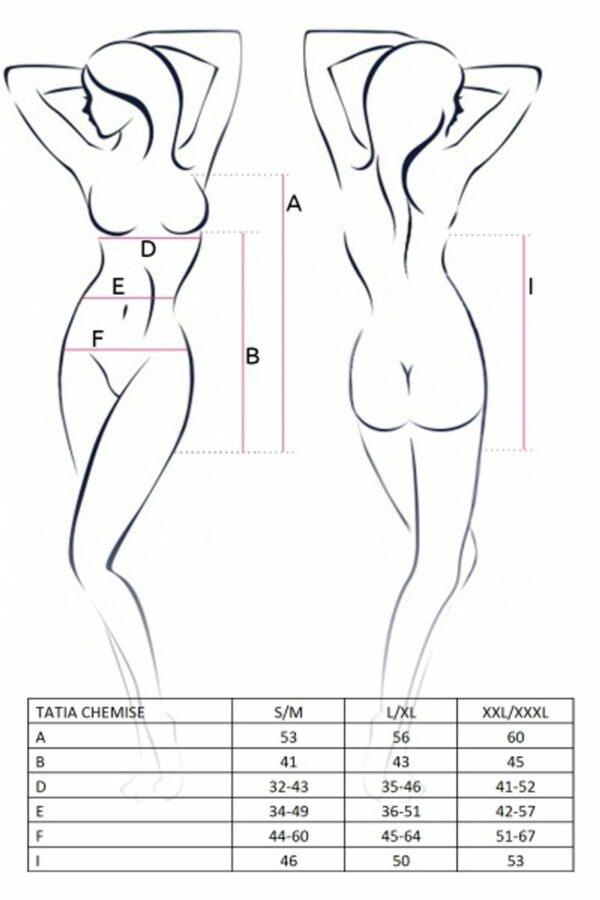 Tatia Chemise Size